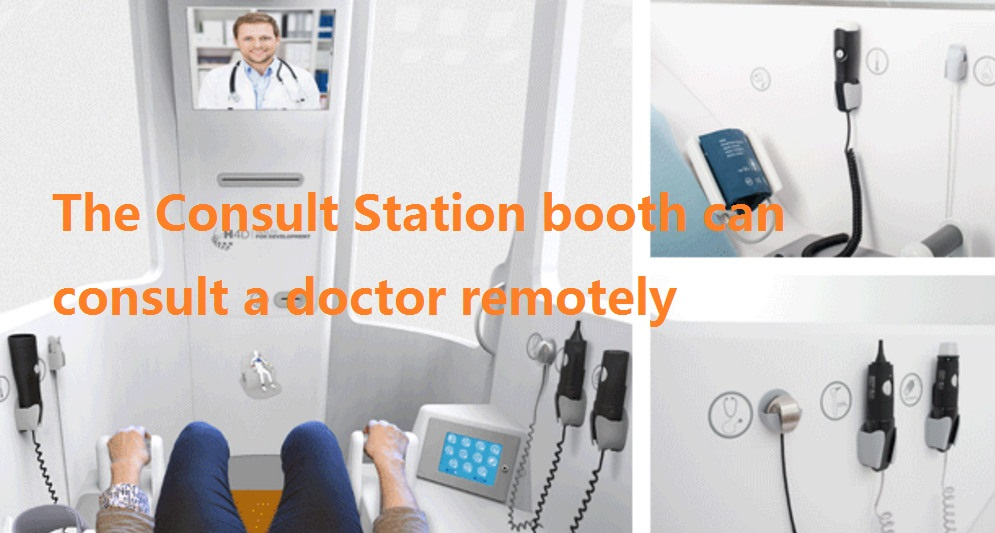 cabine-H4D consult station smart health