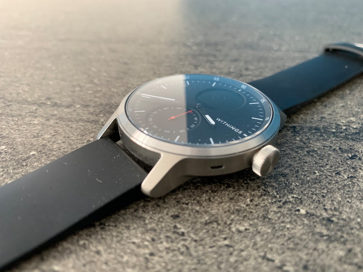 Withings Scanwatch review : a connected watch ever more focused on health & anti-stroke