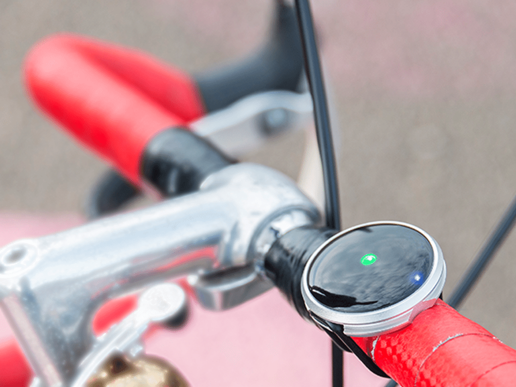 haize connected bike compass