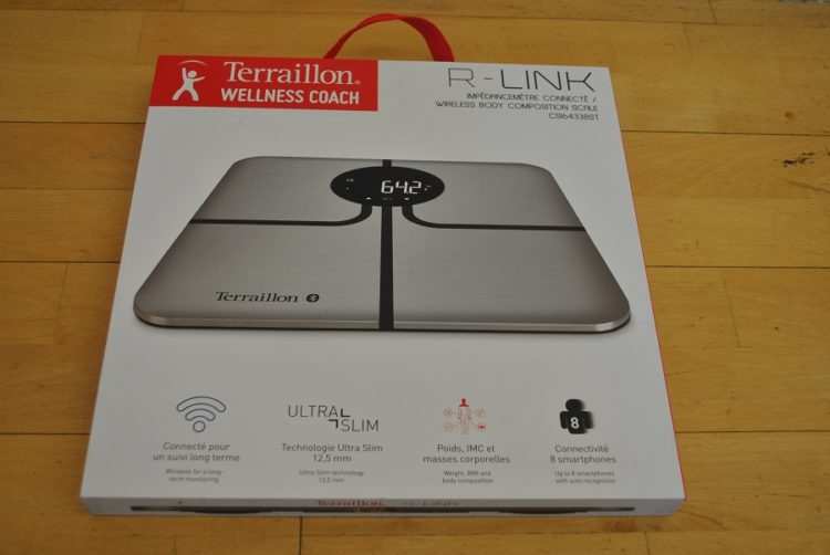 connected scale terraillon r-link test iot