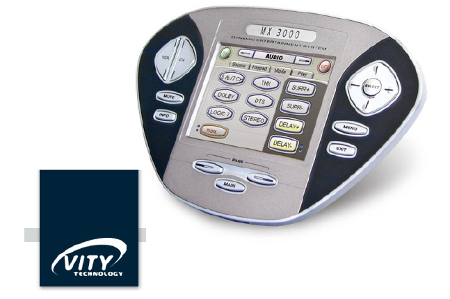 State of the art smart health homes smart health home An example of the universal programmable MX 3000 remote control from Vity Technology which combines both radio and infrared technology