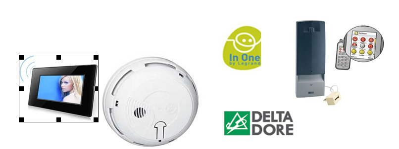 smart health home Autonomous Smoke Detector-Warning of Legrand using wireless technology (In one By Legrand)