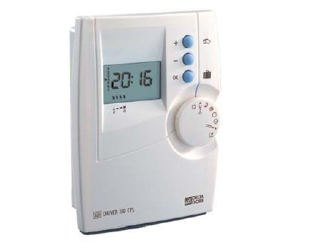 State of the art smart health homes smart health home device Time programmer from Delta Dore Driver 210 220 230 CPL to control the heating