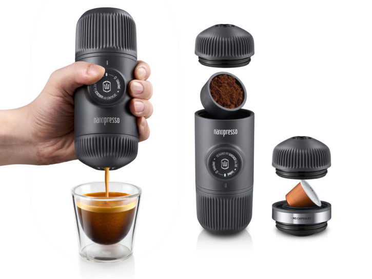 Presentation of Nanopresso for the connected kitchen