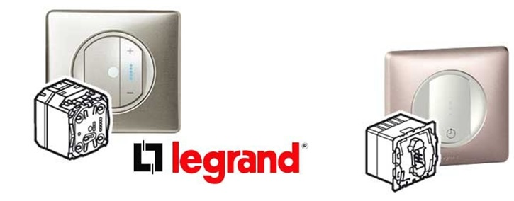 Smart health home project product Legrand offers the whole range detailed in the table above
