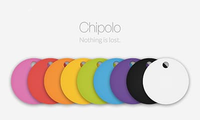 chipolo in different colors