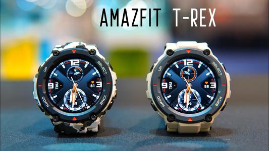 Amazfit T-Rex – a sports smartwatch that focuses on strength and endurance