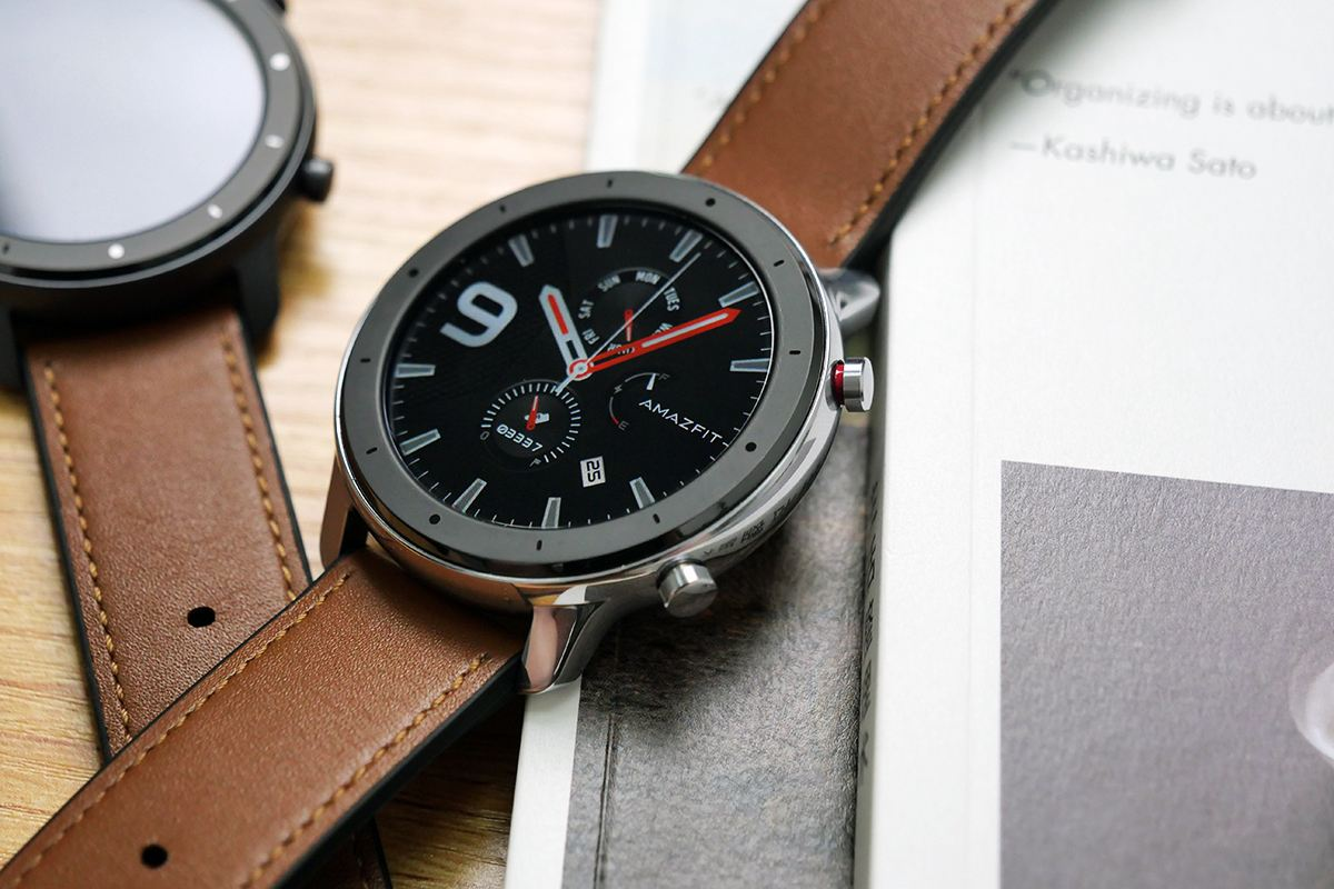 AMAZFIT GTR 47mm ,THE SMARTWATCH FOR SPORT AND OFFICE AUTONOMY