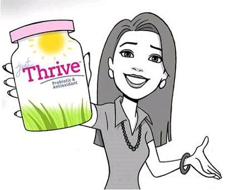 Just thrive – Probiotic and Antioxidant Healthy Lifestyle