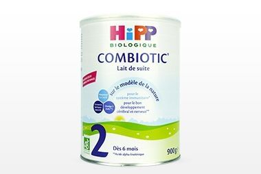 Hipp combiotik 2 -the brand with organic products also has its follow-on milk